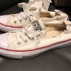 Converse White Slip Ons